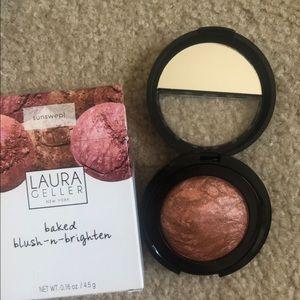 NIB Laura Geller Baked Blush N Brighten - Sunswept